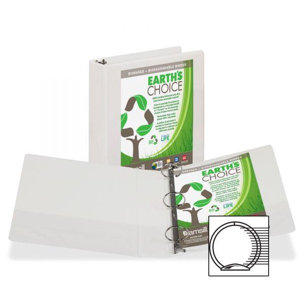 "Samsill Earth's Choice 2"" 3-Ring View Binder"
