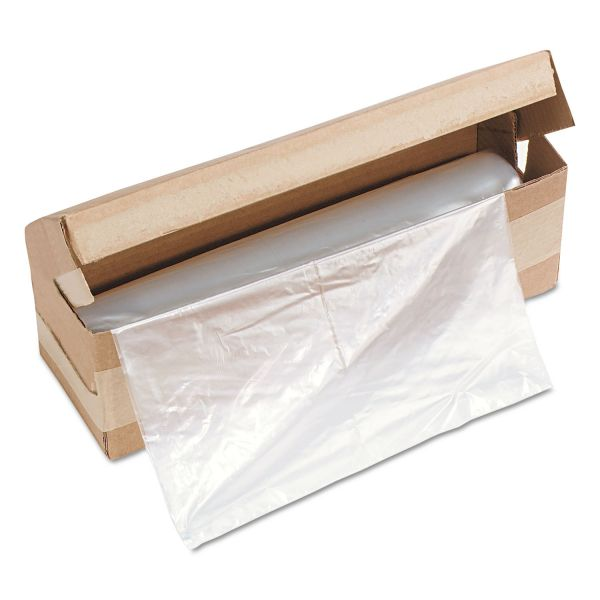 HSM of America Shredder Bags, 58 gal Capacity, 100 Bags/Roll, 1/Roll