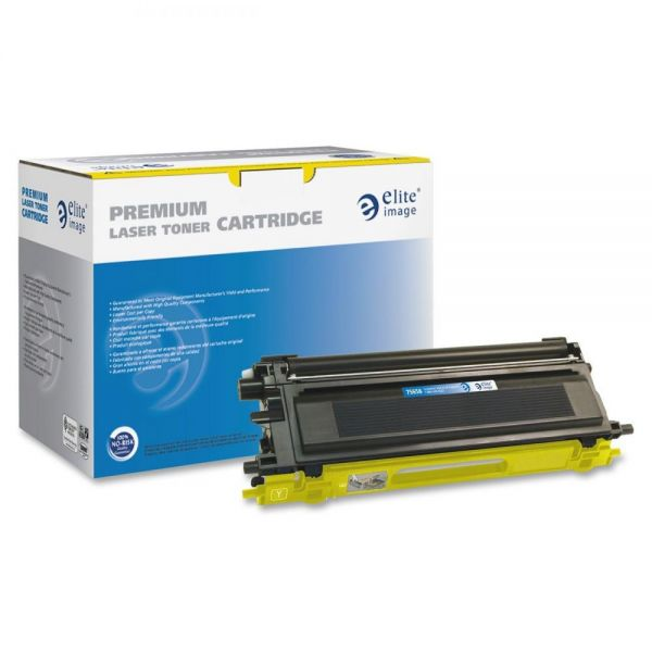 Elite Image Remanufactured Brother TN110Y Toner Cartridge