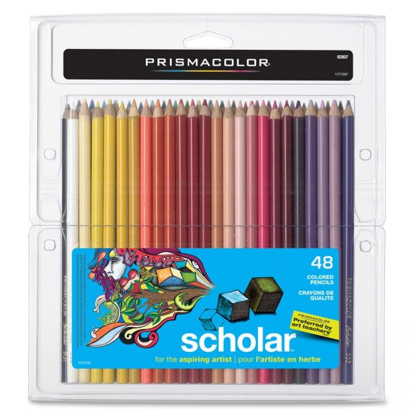 Prismacolor Scholar Colored Woodcase Pencils