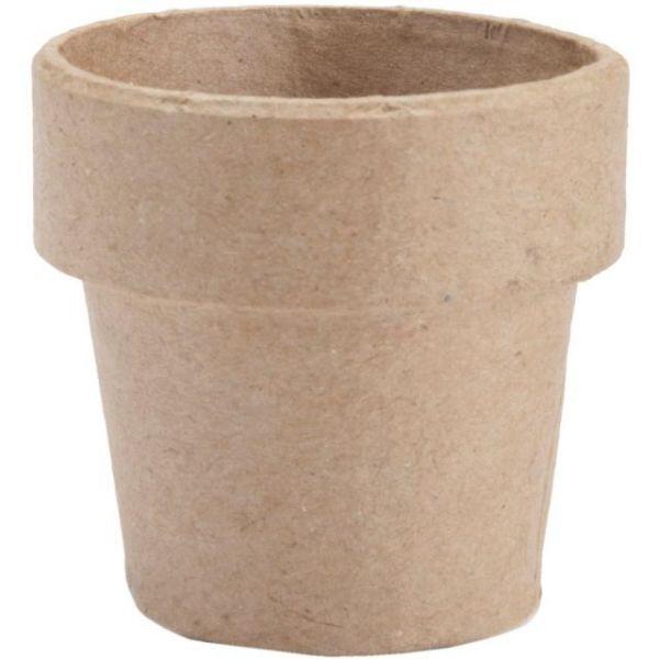Paper-Mache Clay Pot