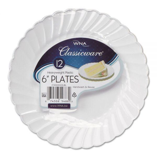 """WNA Classicware 6"""" Plastic Plates"""