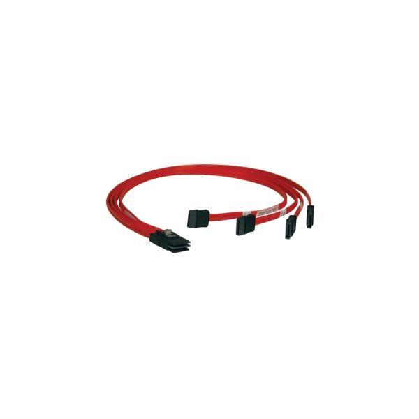 Tripp Lite Internal SAS Cable, 4-Lane mini