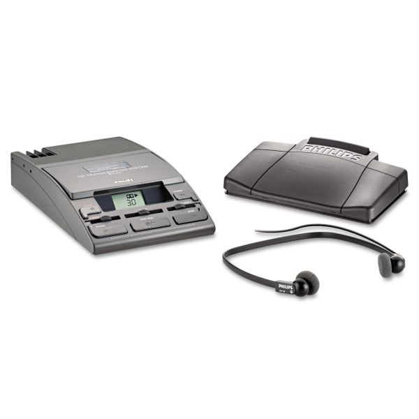 Philips Speech Mini Cassette Transcription Kit 720