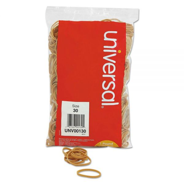 Universal #30 Rubber Bands (1 lb)