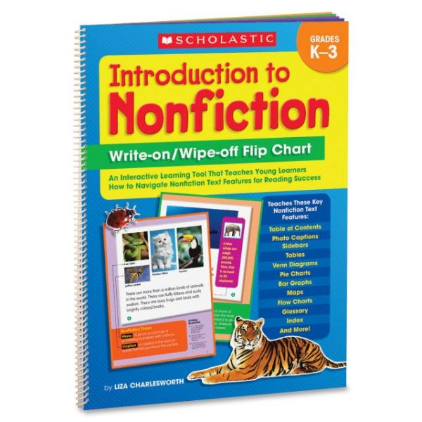 Scholastic Introduction To Nonfiction Flip Chart Education Printed Book