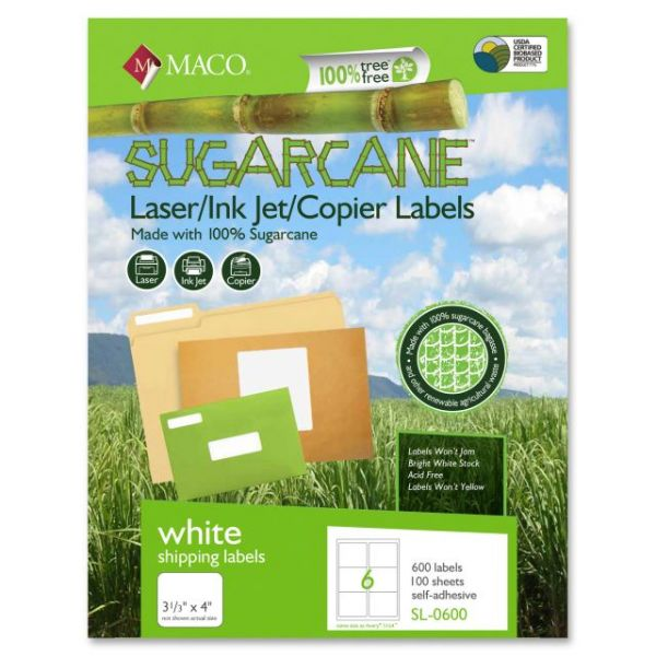 Maco Sugarcane Address Labels