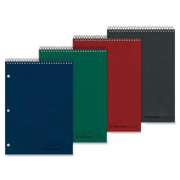 Rediform National Porta-Desk 1-Subject Notebook with Extreme White Paper
