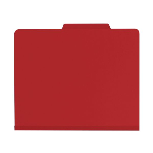 Smead Red Classification File Folders