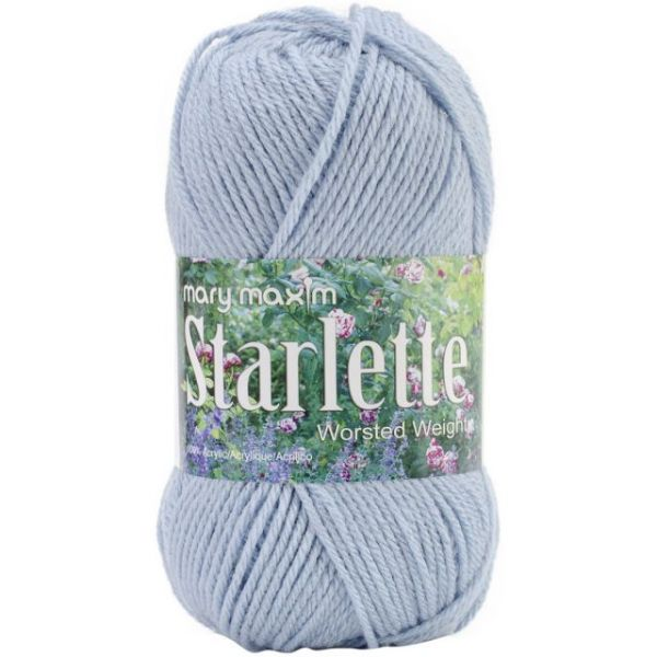 Mary Maxim Starlette Yarn - Light Azure