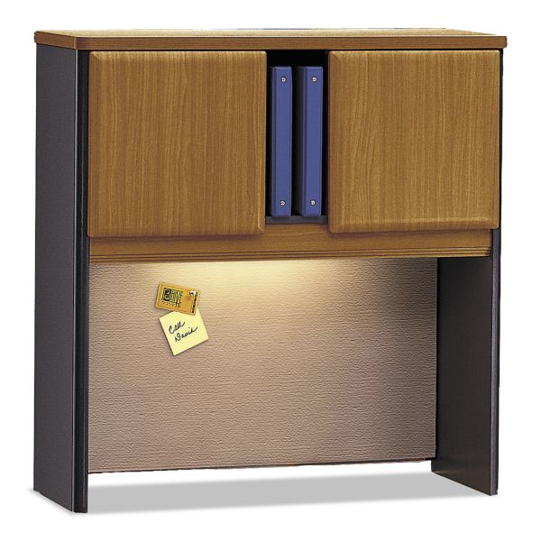 Bush Series A Collection 36W Hutch, Natural Cherry