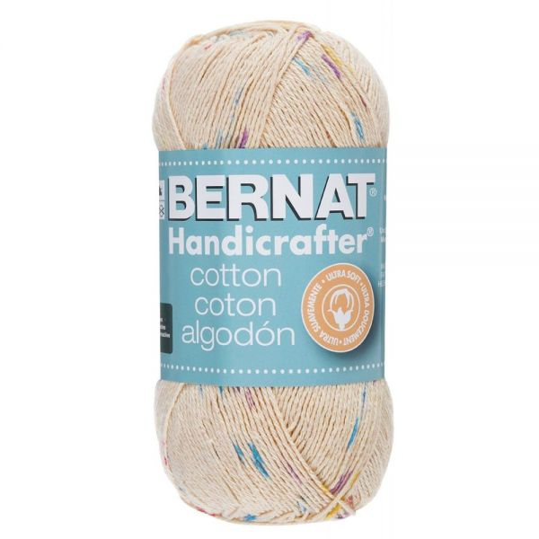 Bernat Handicrafter Cotton Yarn (340 Grams) - Potpourri Print