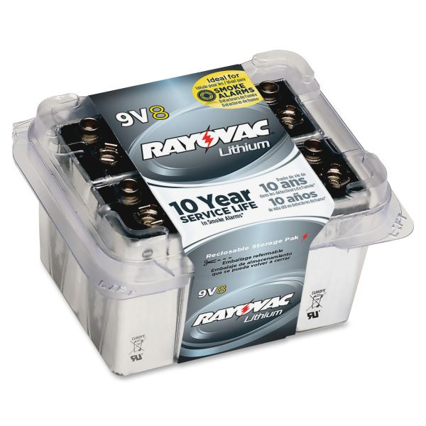 Rayovac Lithium 9V Batteries