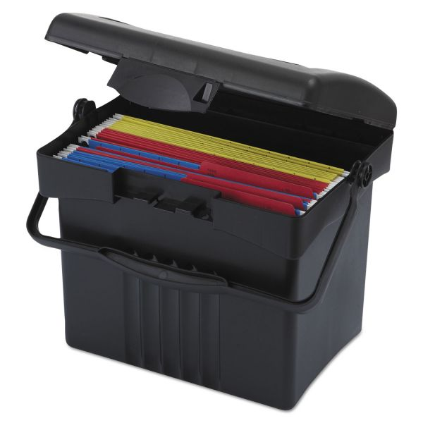 Storex Portable Storage Box