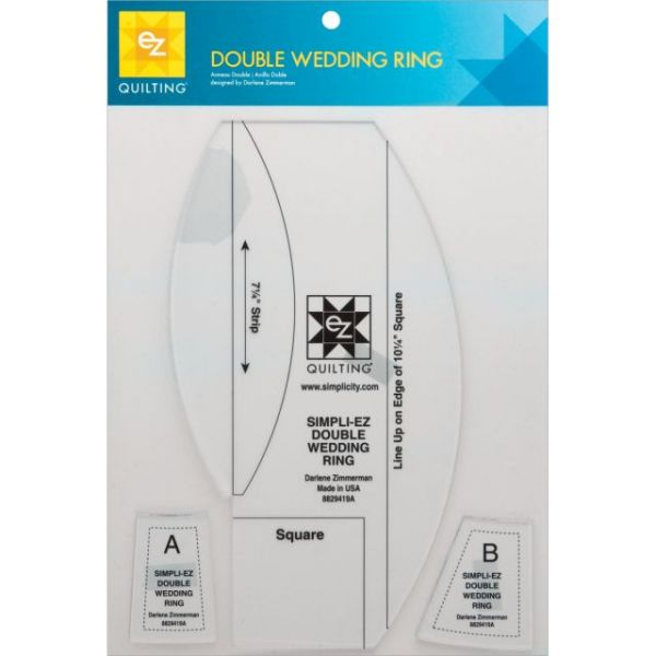 Double Wedding Ring Template