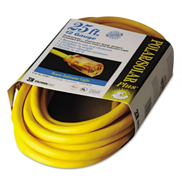 CCI Polar/Solar 25' Indoor-Outdoor Extension Cord With Lighted End