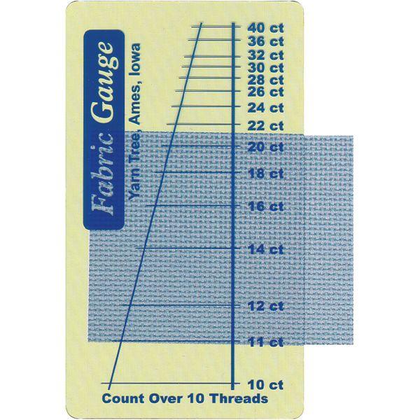 "Fabric Gauge 2""X3.5"""