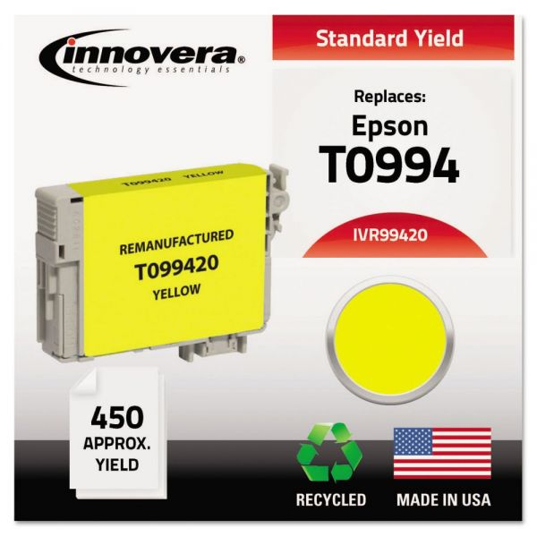Innovera Remanufactured T099420 (99) Ink, Yellow