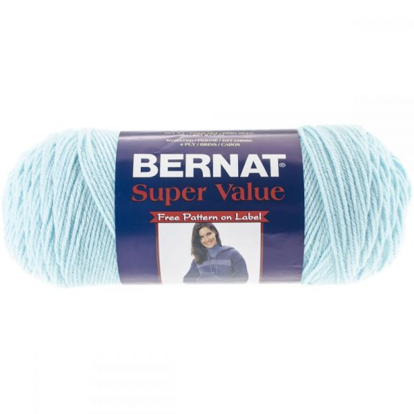 Bernat Super Value Yarn - Cool Blue
