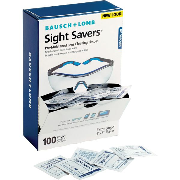 Bausch & Lomb Sight Savers Pre Moistened Lens Cleaning Tissues