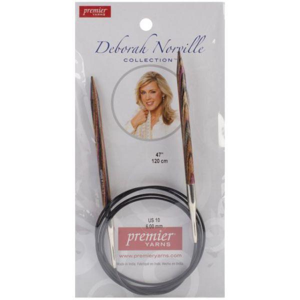 "Deborah Norville Fixed Circular Knitting Needles 47"""