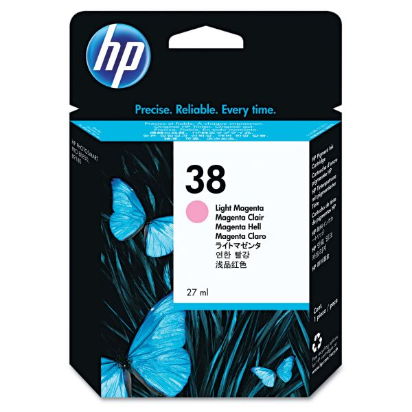 HP 38 Light Magenta Ink Cartridge (C9419A)