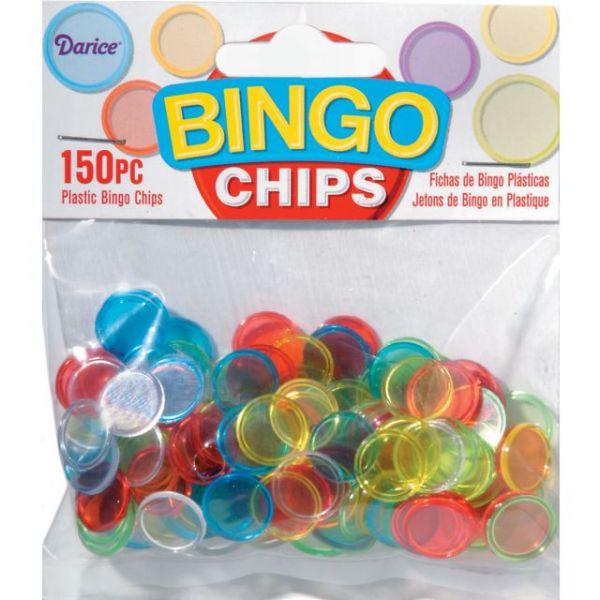 Plastic Bingo Chips 150/Pkg