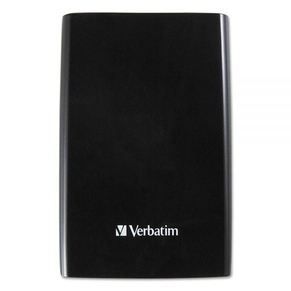 Verbatim Store N Go Portable Hard Drive, USB 3.0, 2 TB