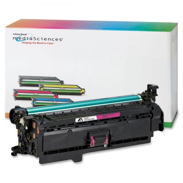 Media Sciences Remanufactured HP 504A Magenta Toner Cartridge