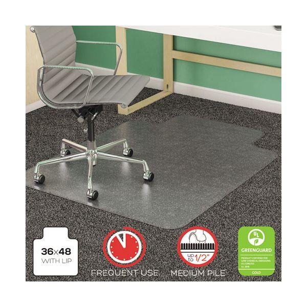 Deflect-o SuperMat Studded Medium Pile Chair Mat
