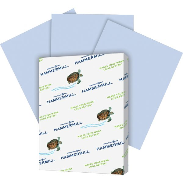 Hammermill Recycled Colored Paper, 20lb, 8-1/2 x 11, Orchid, 500 Sheets/Ream