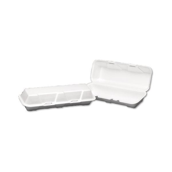 Genpak X-Large Takeout Foam Clamshell Food Containers