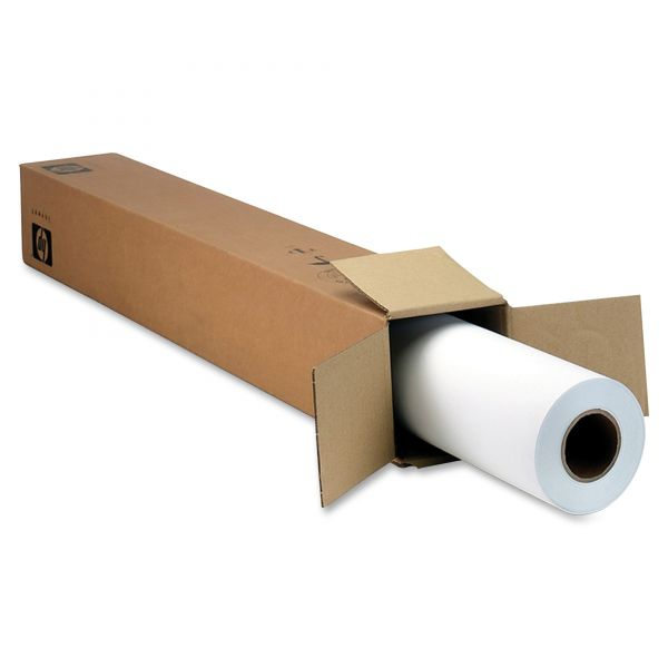 "HP Designjet Inkjet Large Format Paper, 36"" x 100 ft, White"