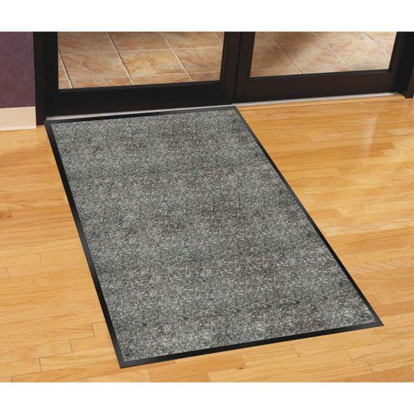 Genuine Joe Silver Series Indoor Walk-Off Floor Mat
