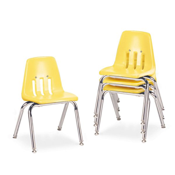 9000 Series Classroom Plastic Stacking Chairs