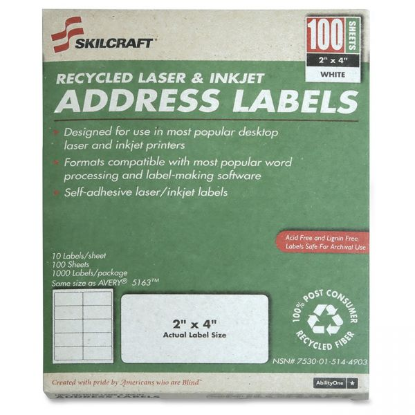 Skilcraft Shipping Labels