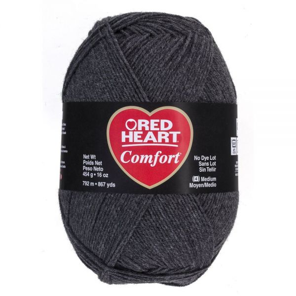 Red Heart Comfort Yarn - Charcoal
