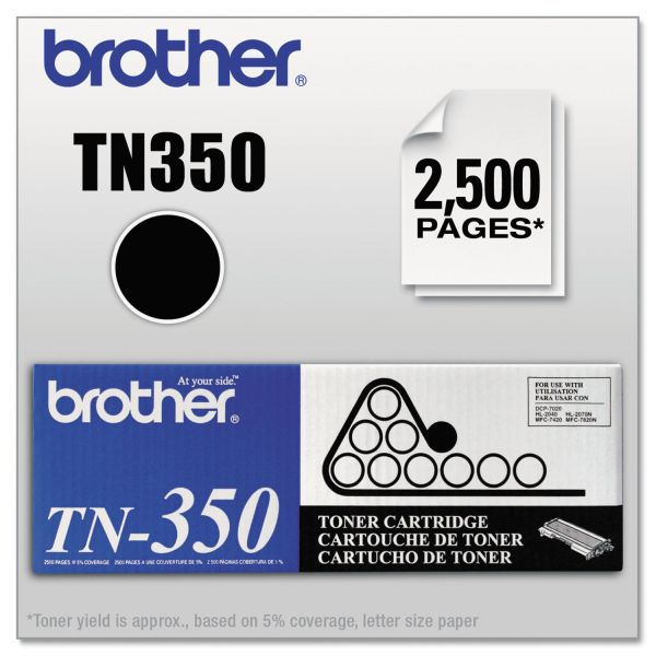 Brother TN-350 Toner Cartridge