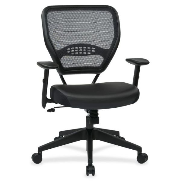 Office Star Dark Air Grid Back Big And Tall Manager's Office Chair