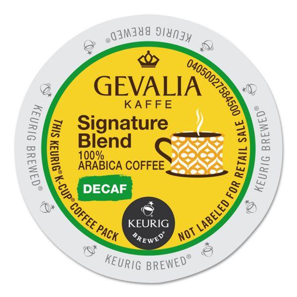 Gevalia Kaffee Signature Blend Coffee K-Cups - Decaf
