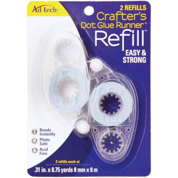 Ad Tech Crafter's Dot Glue Runner Refills