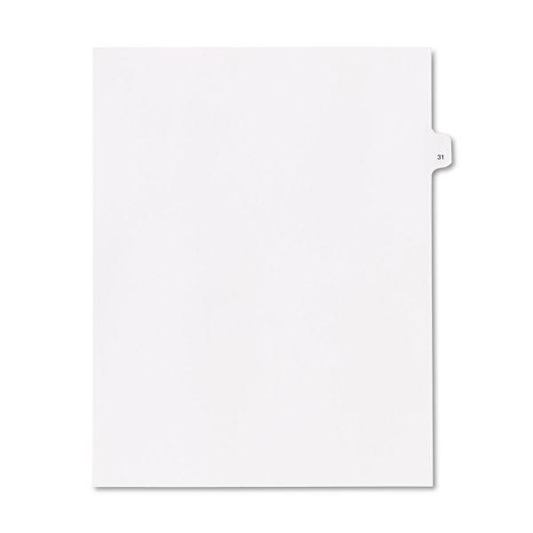 Kleer-Fax 90000 Series Side Tab Index Divider