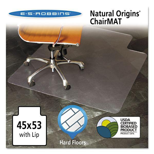 E.S. Robbins Natural Origins Hard Floor Chair Mat