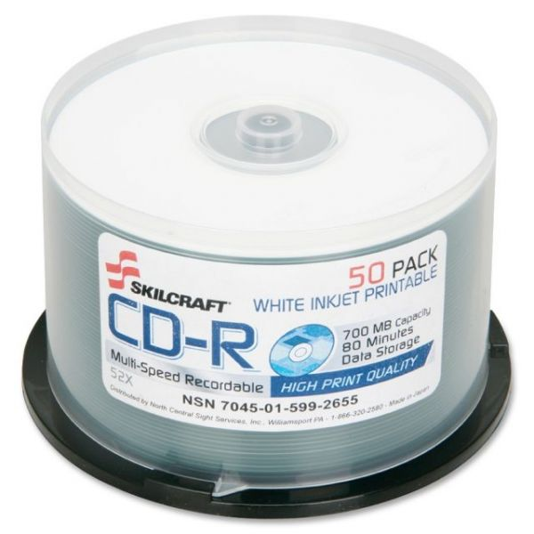 SKILCRAFT Recordable CD Media