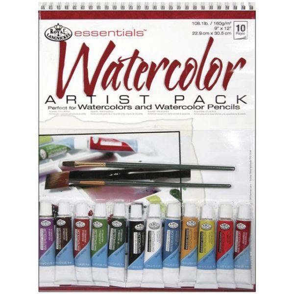 Essentials Watercolor Artist Pack