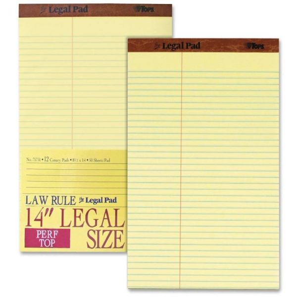 TOPS Legal Pads