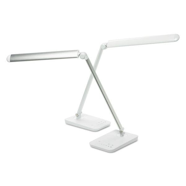 """Safco Vamp Lighting, 16 3/4"""" High, White"""