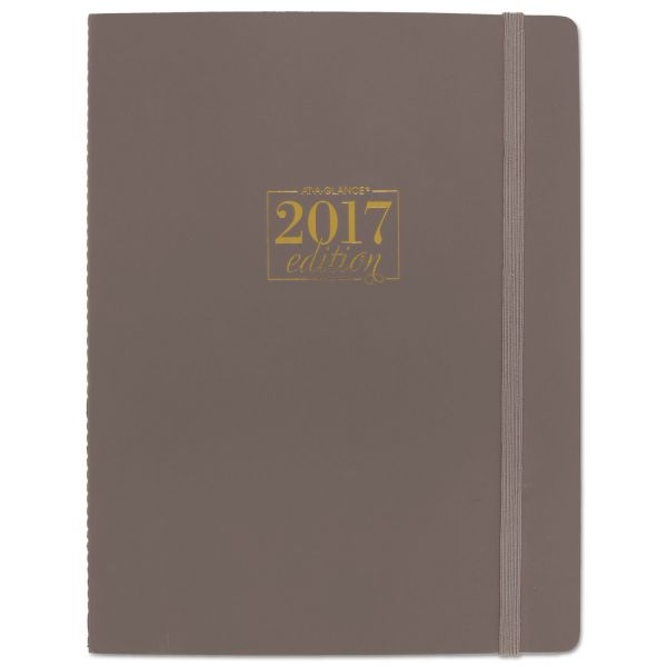 At-A-Glance Bungee Closure Gray Take Care Planner