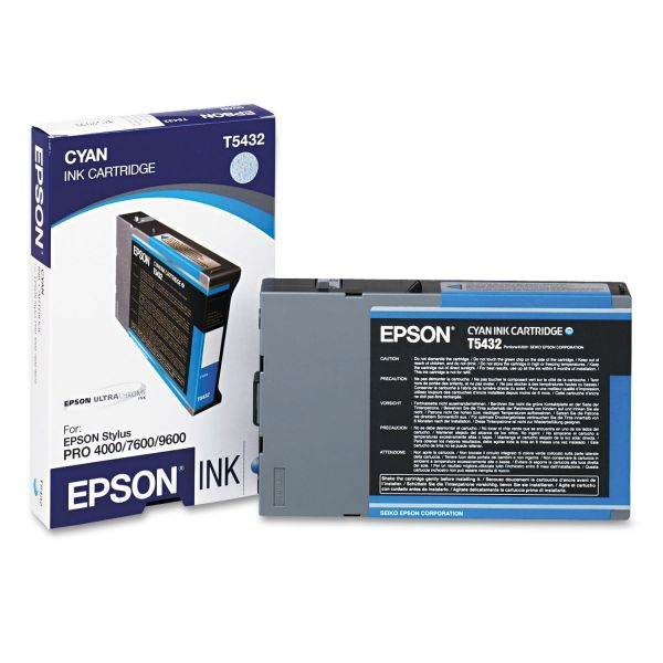 Epson T5432 Cyan Ink Cartridge