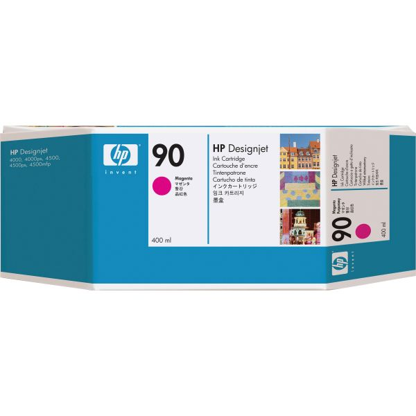 HP 90, (C5063A) Magenta Original Ink Cartridge